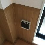 洋室 壁埋め込み 換気扇・ロスナイ交換