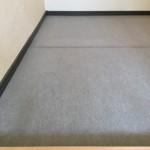 1R洋室ロフト 床 パンチカーペットからクッションフロアへ張替