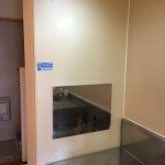 キッチン ガス台横 耐火板(ステンレス板)交換