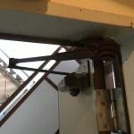 玄関扉 ドアクローザー(ドアチェック)交換