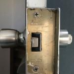 玄関 ドアノブ交換 GOAL握り玉 鍵交換