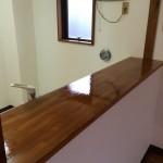 キッチンカウンター 表面修繕