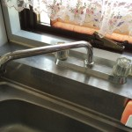 キッチン 水栓器具交換作業