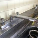 キッチン 水栓器具交換